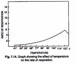Rate of respiration